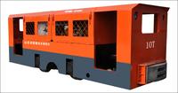 矿用防爆柴油机钢轮普轨机车CCGS10.0