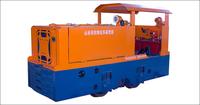 矿用防爆柴油机钢轮普轨机车CCG5.0/600J(D)